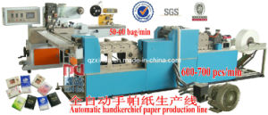 Mini Type Handkerchief Facial Tissue Machine Automtic Counting pictures & photos