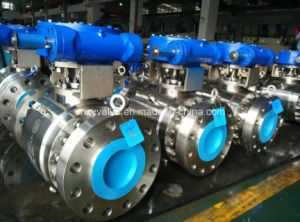 API6d 3PCS Stainless Steel Forged Ball Valve pictures & photos