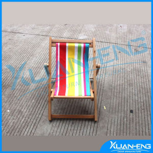 Canvas and Wood Beach Chair for Outdoor and Indoor pictures & photos