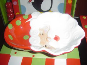 Ceramic Santa Dish Christmas Gift pictures & photos