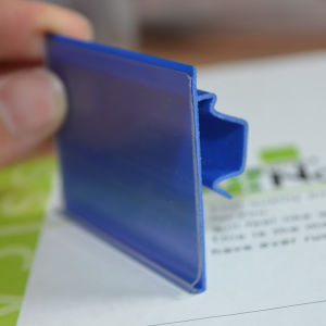 PVC Plastic Data Strip for Supermarket (DS-1010) pictures & photos