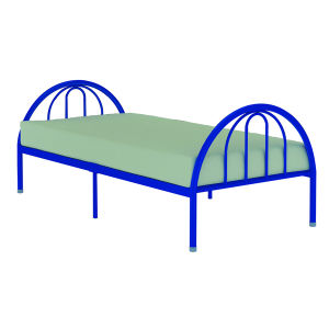 Metal Single Bed/ Steel Bed/Metal Bed pictures & photos