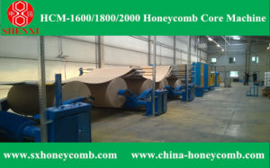 Hcm-1800 Automatic Honeycomb Core Making Machine pictures & photos