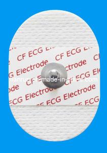 Disposable ECG Monitoring Electrode, Non-Woven Backing, 35*50mm pictures & photos