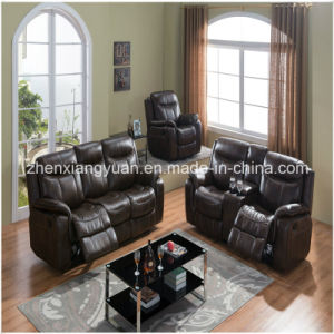 New Design Leather Air Sofa, Bonded Leather Recliner Sofa (A-3739)