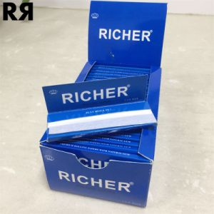 Richer Top Grade 20GSM 1-1/4 Size Vertical Cigarette Smoking Paper pictures & photos