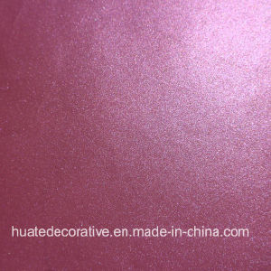 Purple Melamine Paper with Colorful Metallic for Laminate Sheet, Plywood