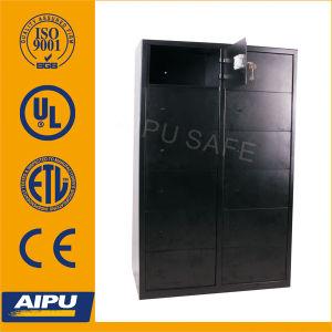 12 doors security locker safe LKR-5132K263-01 with double bitted key lock / 2mm body 4mm door pictures & photos