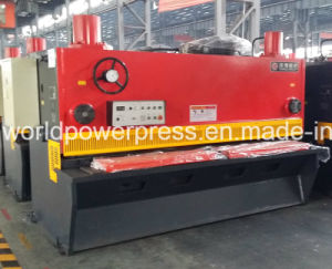 Metal Guillotine for 12mm Thickness Sheet Cutting pictures & photos