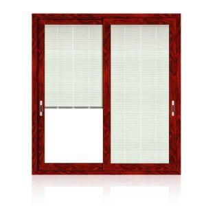 Feelingtop Double Glass Aluminum Wood Swing Window (FT-Aluminum wood window) pictures & photos