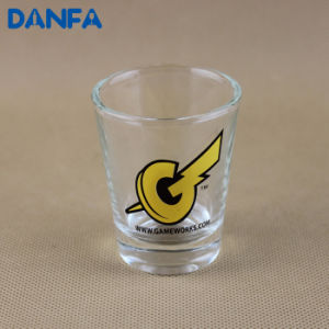 2oz. Shot Glass with Screen Printed Logo (Lead Free) pictures & photos