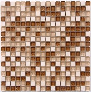 Bigie Color Glass and Stone Mosaic pictures & photos