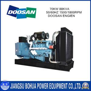 Doosan Series 70kw 88kVA Diesel Generators