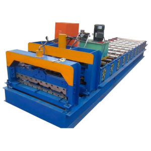 Arc Color Steel Roof Sheet Roll Forming Machinery pictures & photos