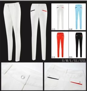 New Fashionable Women Golf Pants Golf Clothes Quick Dry Breathable Golf Trousers pictures & photos