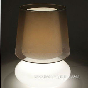 Popular Contemporary Home Glass Table Lamp, Decorative Desk Light Lamp pictures & photos