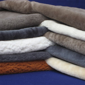 Genuine Australian Sheepskin Shearling Linings for Shoes pictures & photos