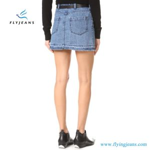 Fashion Blue Classic Ladies Jeans Skirts Women Denim Miniskirt (E. P. 515) pictures & photos