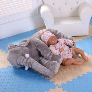 Soft Elephant Baby Sleep Pillow Baby Bed Car Seat Cushion