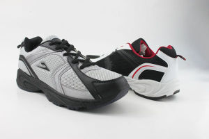 Men Sport Shoes with PVC Outsole PU Upper (SNS-01013) pictures & photos