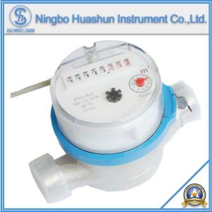 Single Jet Dry Type Water Meter with Pulse Output Function pictures & photos
