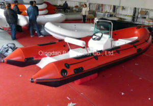 Rigid Fishing Fiberglass Inflatable Boats Rib 520 Ce pictures & photos