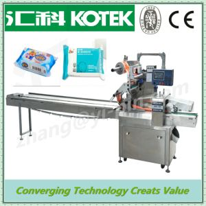 Handmade Soap Packaging Machine Flow Packing Machine (top paper) pictures & photos