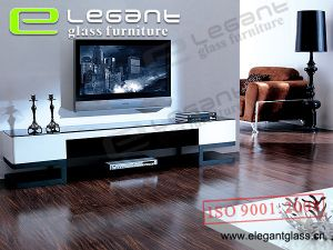 Aluminium Alloy TV Stand with MDF Drawers-T327 pictures & photos
