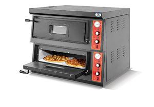 2-Deck Commercial Gas Pizza Oven (HGP-2-4) pictures & photos