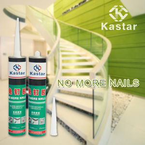 White Color No Odor Construction Liquid Adhesive for Marble pictures & photos