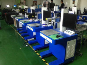 Good Quality Metal Fiber Laser Marking Machine with Three Years Warranty pictures & photos