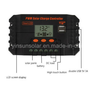 25A PWM Solar Charge Controller for Solar pictures & photos