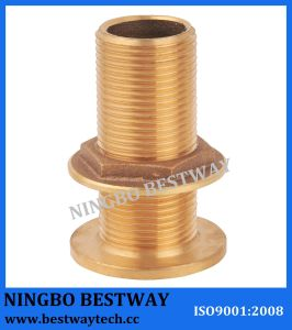 Bronze Skin Fitting for Marine /Bronze Water Tank Fittings pictures & photos