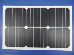 2017 New Product, 20W Semi-Flexible Sunpower Solar Panel (JGN-20W-SPF) pictures & photos