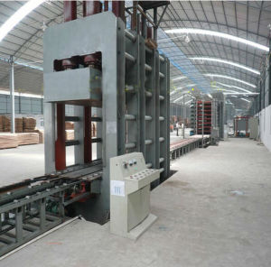 Hot Press Machine Used in Laminating The Plywood for The Construction pictures & photos
