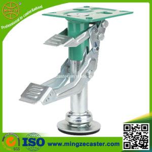Heavy Duty Trolley Caster Wheel Floor Lock