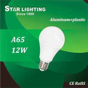 20000hrs Lifetime E27 A65 12W LED Bulb