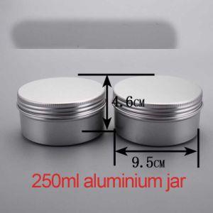 250g Hand/ Body Cream Aluminium Screw Cap Container/Jar/Cans pictures & photos