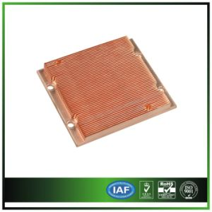 Copper Skived Heat Sink for Server Instrument pictures & photos