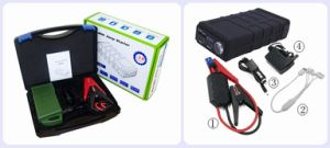 Car Battery Jump Cables Jumpstarter with Lithium Battery pictures & photos