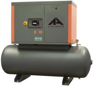 10HP Tank Mounted Screw Air Compressor pictures & photos