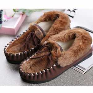 Kangaroo Skin Men Shoes Casual Shoes pictures & photos