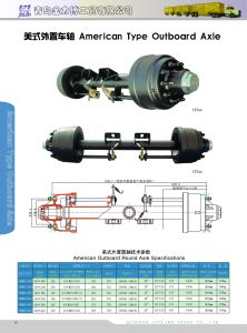 American Type Inboard Axle / Outboard Axle pictures & photos