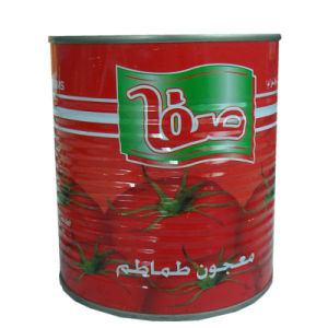 Canned Tomato Sauce, Tomato Puree, Tomato Paste pictures & photos