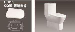 UF Soft Close Toilet Seats Quick Release Toilet Seat and Cover European Toilet Seat 810 pictures & photos