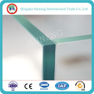 Polishing C Edge/Beveled Edge Tempered Glass pictures & photos