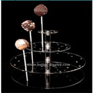 Clear House Shaped Acrylic Candy Box (BTR-K4047) pictures & photos