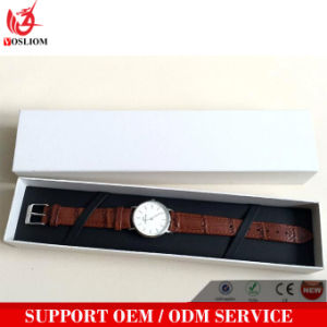 Yxl-465 Custom Cheap Rectangle Storage Long Cardboard Watch Box Watch Packaging Case Box pictures & photos