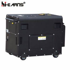 4kw Portable Air-Cooled Silent Diesel Generator Price (DG5500SE) pictures & photos
