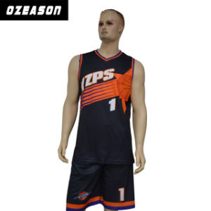 Sportswear Manufacturer Custom Reversible Sublimation Basketball Jersey (BK002) pictures & photos